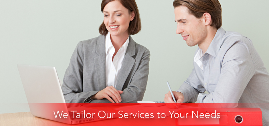We Tailor Our Services to Your Needs - accountants